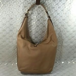 Authentic Gucci Brown Leather Hobo Shoulder Bag